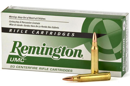 REMINGTON 223 Rem 50 gr JHP UMC 20/Box