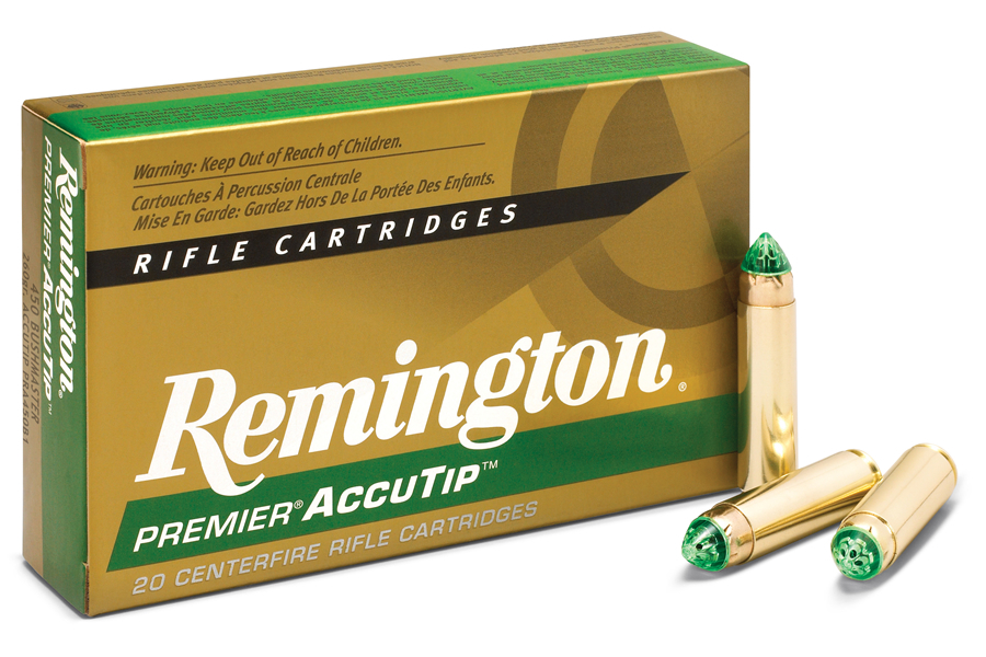 Remington 450 Bushmaster 260 Gr Premier Accutip 20 Box