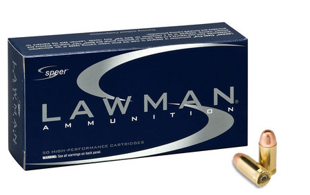 SPEER AMMUNITION 357 Sig 125 gr TMJ FN Lawman 50/Box