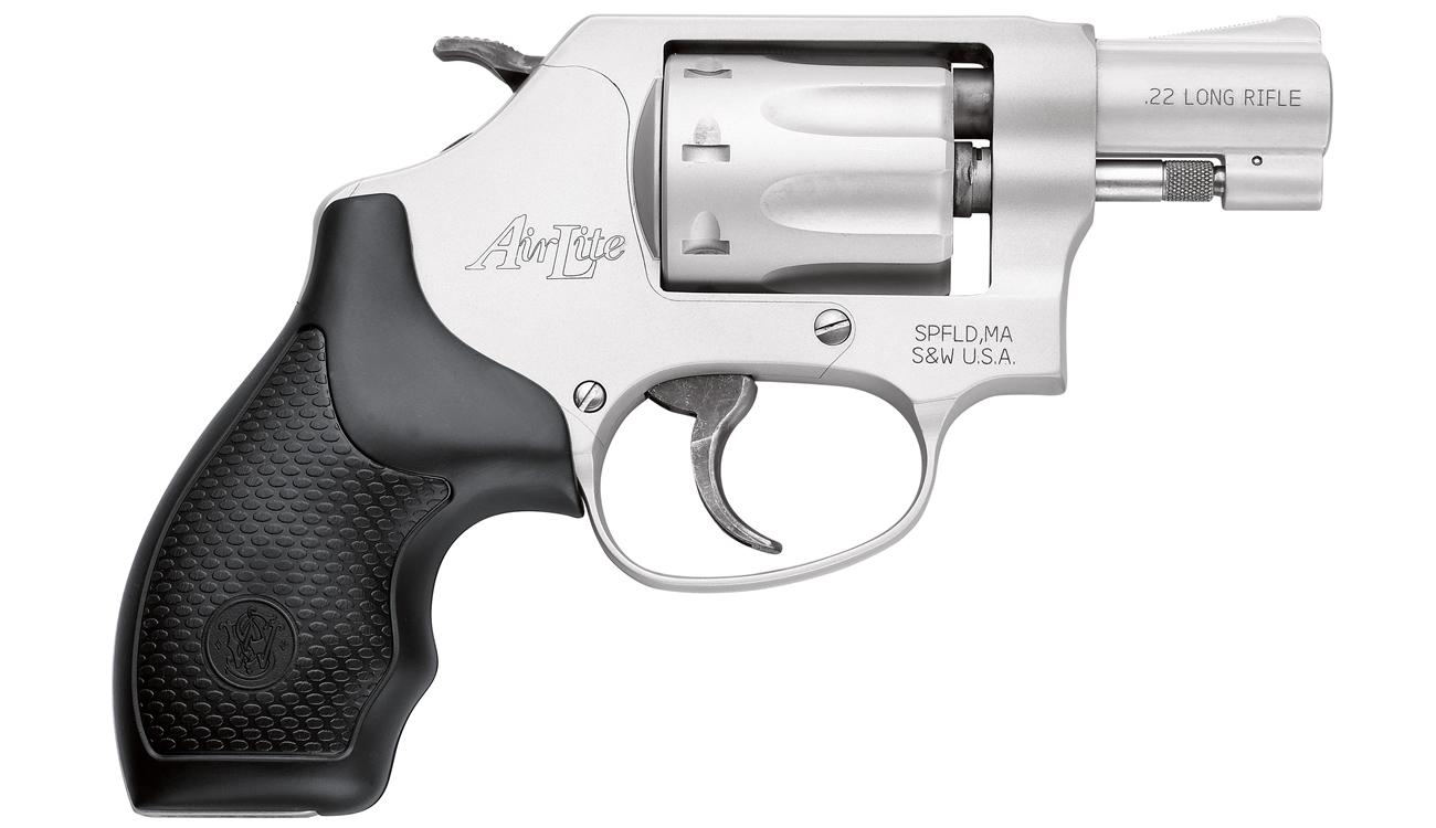 Smith & Wesson Model 317 AirLite 22LR J-Frame Revolver | Sportsman\'s ...