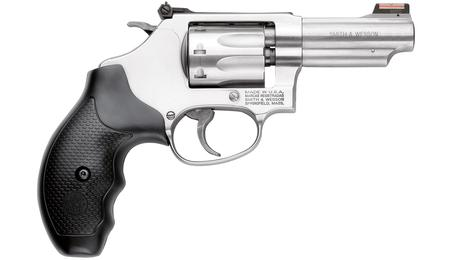 SMITH AND WESSON 63 22LR REVOLVER W/ FIBER OPTIC SIGHT