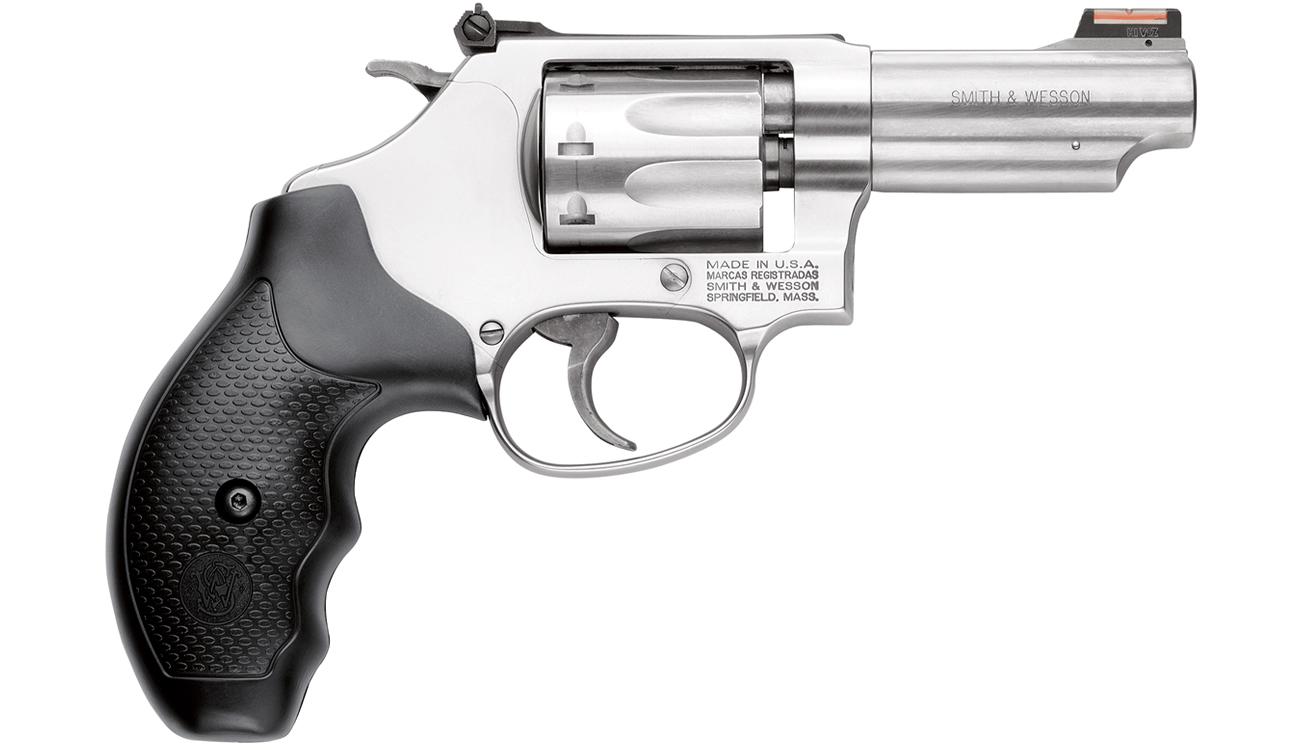 Smith & Wesson Model 63 22LR J-Frame Revolver with Hi-VIZ Fiber ...