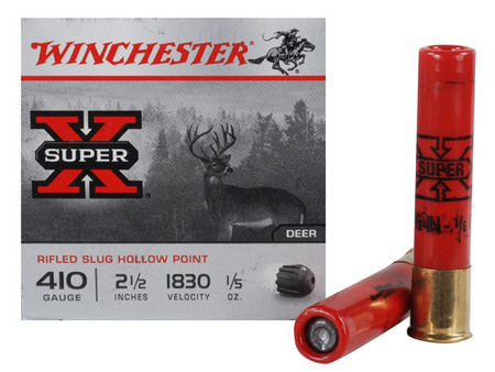 SUPERX 410GA SLUG 2-1/2` 1830FPS