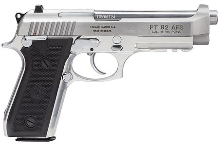 TAURUS PT 92 AFS 9mm Luger Semi-Automatic Pistol
