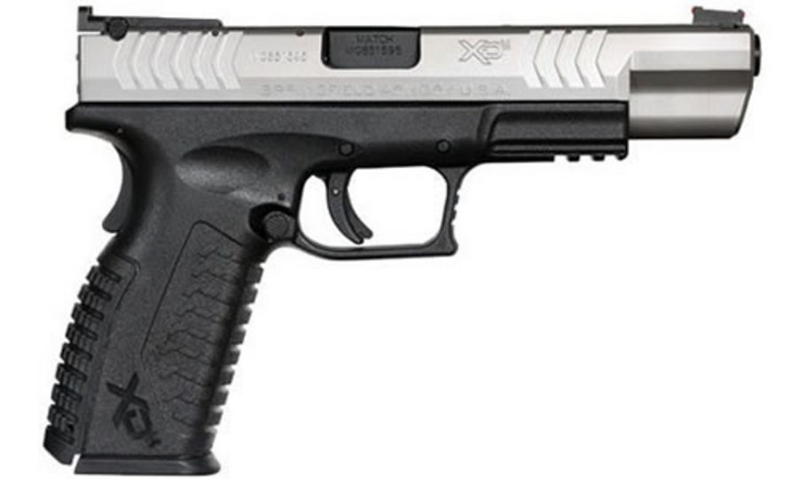 HS XDM 9MM 5.25 COMPETITION BI-TONE