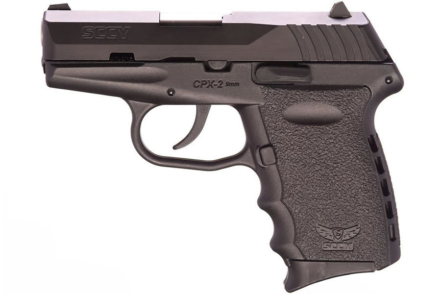 SCCY CPX-2 CB 9MM CENTERFIRE PISTOL