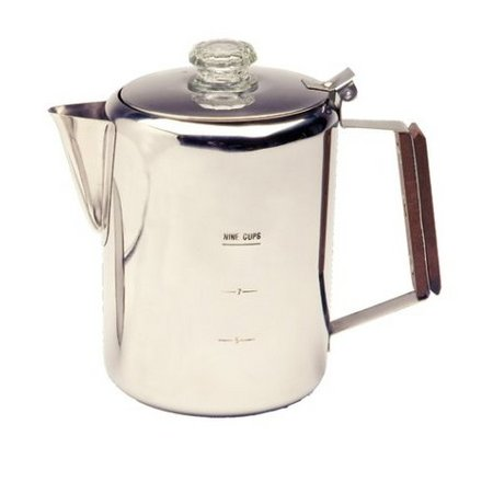 STAINLESS STEEL 9 CUP PERCOLATOR 13215