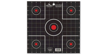 BIRCHWOOD CASEY DIRTY BIRD SIGHT-IN TARGETS 12 IN. 12-PK