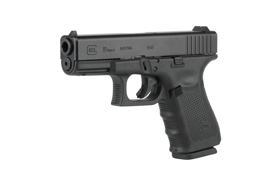 Glock 19 Gen4 9mm 15 Round Pistol With Fixed Sights Le