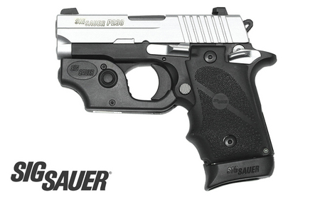 SIG SAUER P238 380ACP TWO-TONE WITH TACTICAL LASER