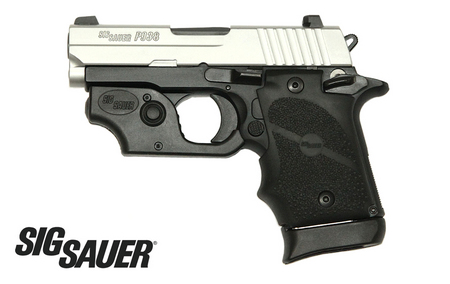 P938 9MM 2-TONE PISTOL WITH SIG LASER