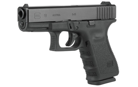 GLOCK 19 9MM 15RD FIXED SIGHTS (GEN3)