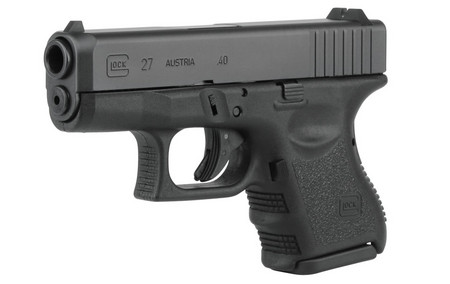 GLOCK 27 40SW 9RD FIXED SIGHTS (GEN3)