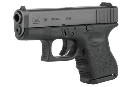 GLOCK 26 9MM 10RD FIXED SIGHTS (GEN3)