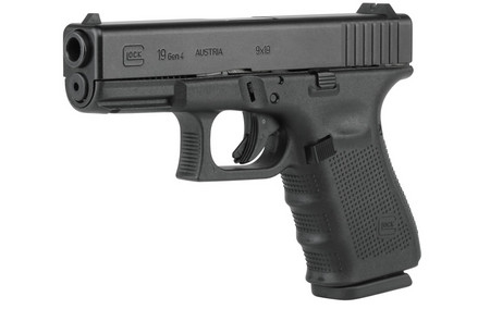 GLOCK 19 9MM 15RD FIXED SIGHTS (GEN4)