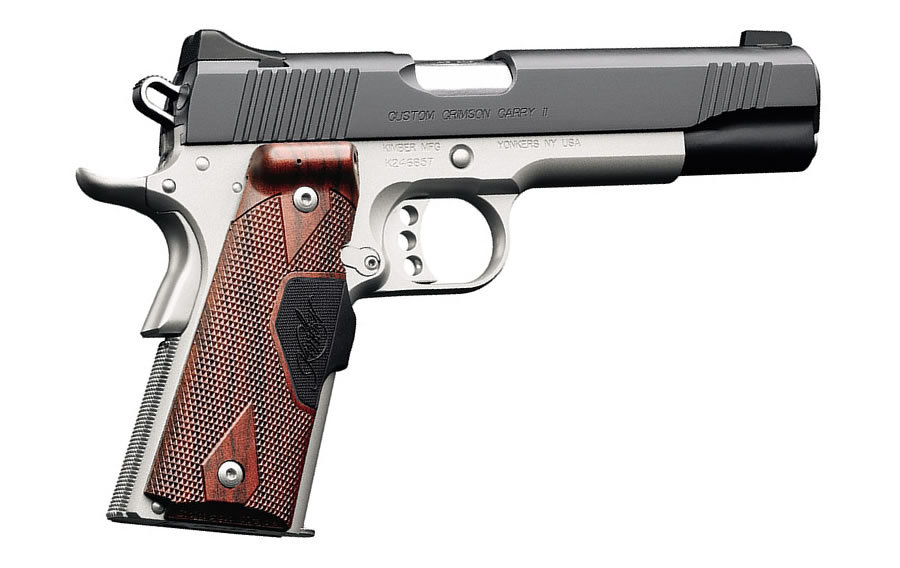 No. 18 Best Selling: KIMBER CUSTOM CRIMSON CARRY II 45ACP RED LASER