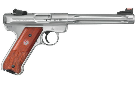 RUGER MARK III HUNTER 22LR STAINLESS COCOBOLO