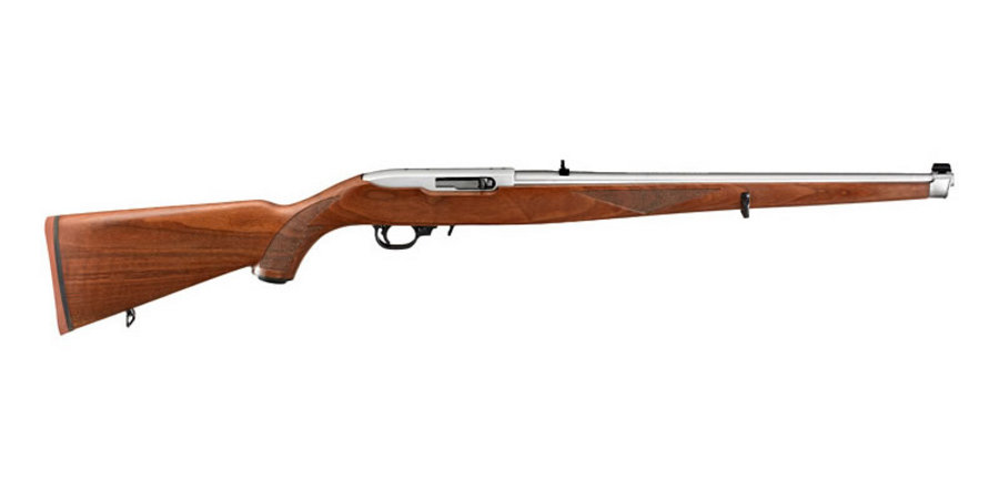 Ruger 10 22 Exclusive 22 Lr Stainless Autoloading Rifle With Mannlicher Stock Sportsman S Outdoor Superstore