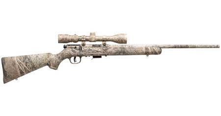 Savage Arms 93 XP Rifle .17 HMR 21in 5rd Oak Brush Camo with Scope 96765-r