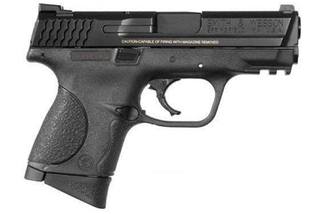 SMITH AND WESSON MP9C 9MM COMPACT SIZE NO THUMB SAFETY