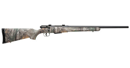 SAVAGE 25 WALKING VARMINTER 22HORNET  W/ CAMO