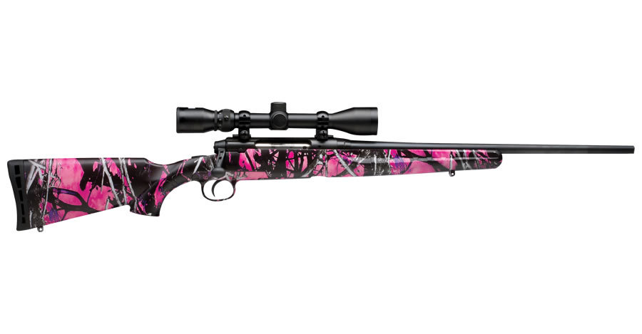 AXIS XP YOUTH MUDDY GIRL 243 W/ SCOPE