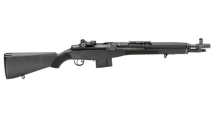 M1A SOCOM-16 308 RIFLE WITH BLACK STOCK