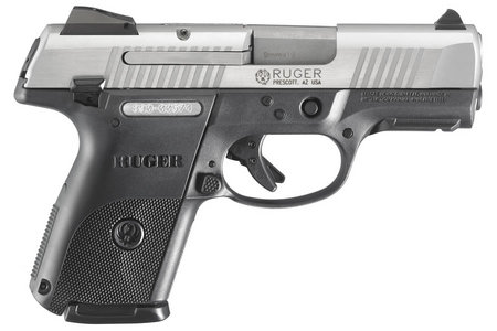 RUGER SR9C COMPACT 9MM STAINLESS PISTOL