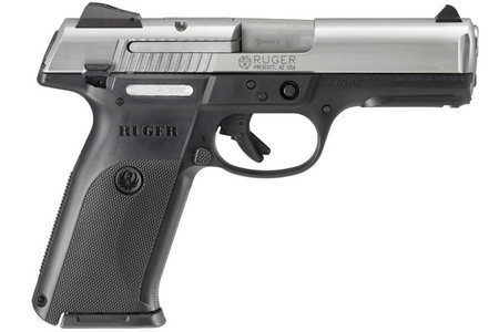 RUGER SR9 FULL-SIZE 9MM STAINLESS PISTOL