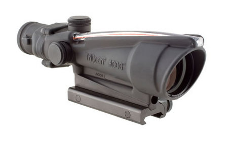 TRIJICON ACOG 3.5X35 SCOPE W/ DUAL ILLUMINATION
