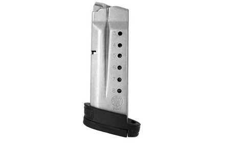 SMITH AND WESSON MP Shield 9mm 8 Round Factory Magazine with Finger Rest