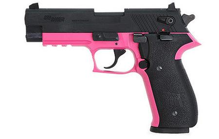 Sig Sauer Mosquito Pink Finish 22lr Rimfire Pistol