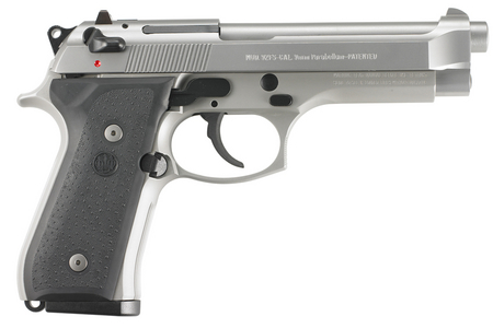 92FS INOX 9MM PISTOL (MADE IN USA)