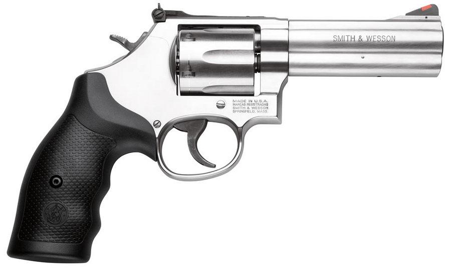 Smith & Wesson Model 686 357 Magnum 6-Shot/4-inch Revolver ...