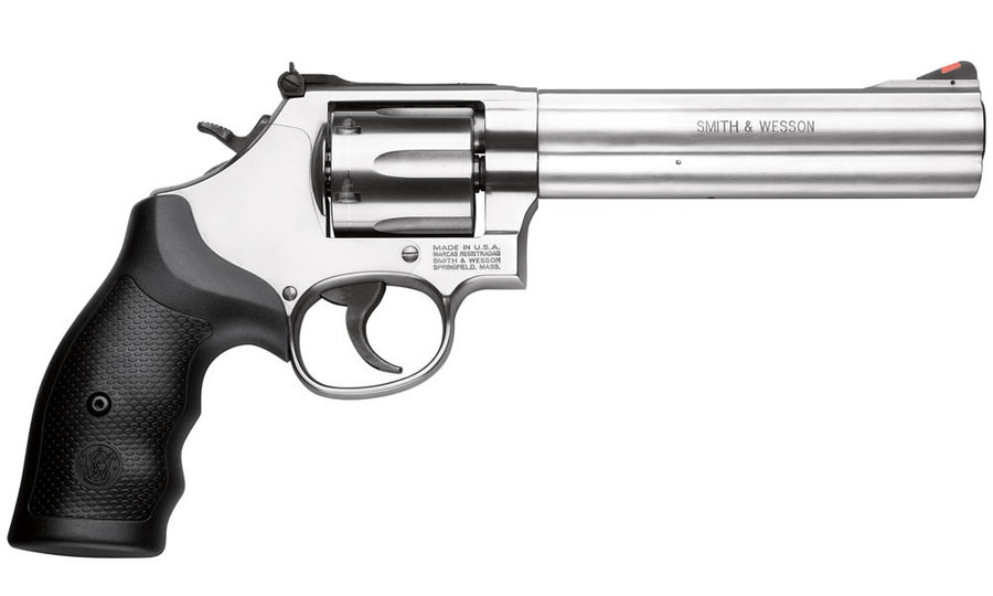 SMITH AND WESSON 686 357MAG STAINLESS 6-SHOT / 6-INCH