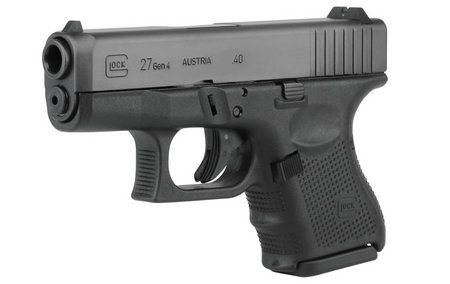 GLOCK 27 40SW 9RD FIXED SIGHTS (GEN4)
