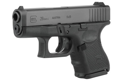 GLOCK 26 9MM 10RD FIXED SIGHTS (GEN4)