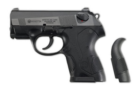 "Beretta PX4 Sub Compact Semi Automatic Pistol .40 S&W 3"" Barrel 10 Rounds Polymer Frame Black Finish JXS4F20"