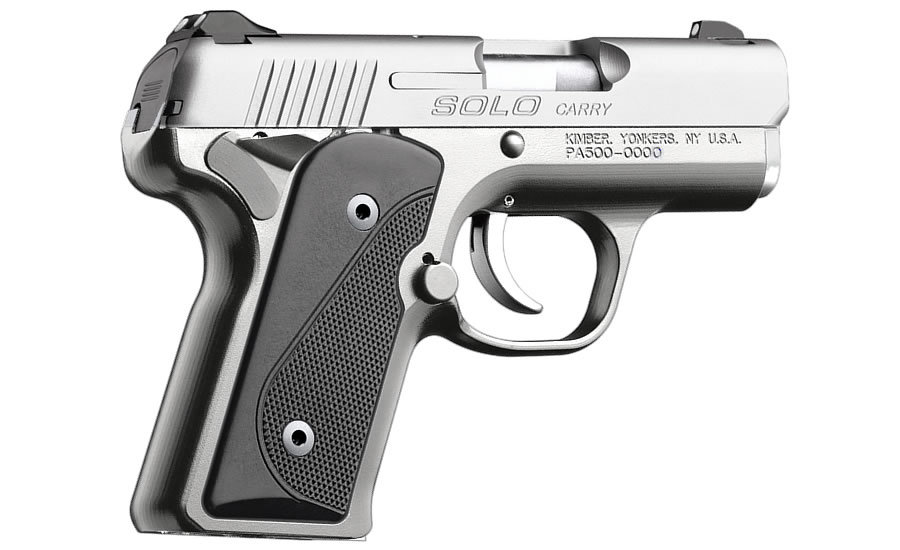 SOLO CARRY STAINLESS 9MM PISTOL