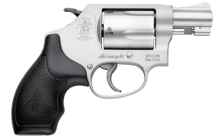 No. 6 Best Selling: SMITH AND WESSON 637 38 SPECIAL REVOLVER