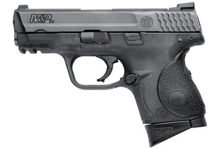 SMITH AND WESSON MP9C 9MM WITH CRIMSON TRACE LASERGRIP