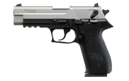 SIG SAUER MOSQUITO 22LR TWO TONE STAINLESS W/ RAIL
