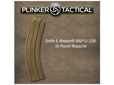 PLINKER TACTICAL MP15-22 35-ROUND .22 FLAT EARTH MAGAZINE