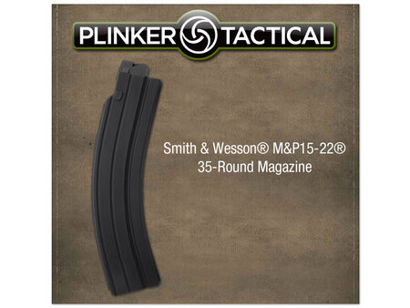 PLINKER TACTICAL MP15-22 35-ROUND .22 BLACK MAGAZINE