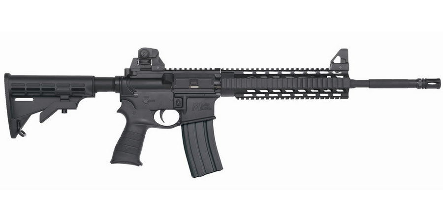 MOSSBERG MMR TACTICAL 5.56 W/ QUAD RAIL + SIGHTS
