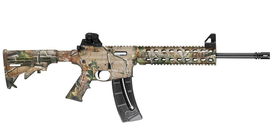 MP15-22 22LR WITH REALTREE APG HD CAMO