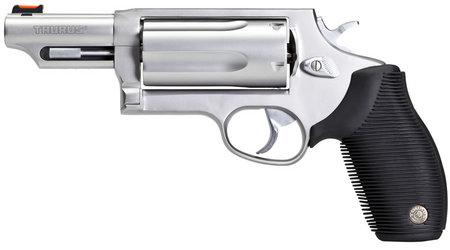 TAURUS Judge 410GA/45LC Stainless Magnum Revolver with 3-inch Barrel