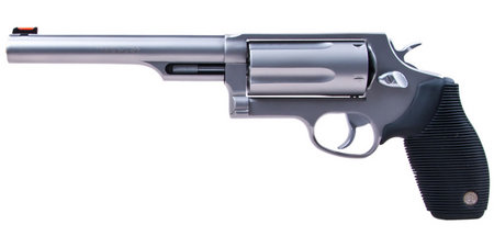TAURUS Judge 410GA/45LC Stainless Magnum Revolver with 6.5-inch Barrel