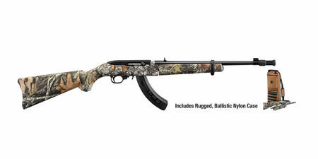 RUGER 10/22 CAMO TAKEDOWN 22LR W/ CARRY CASE