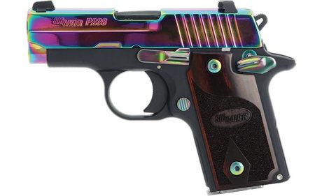 SIG SAUER P238 RAINBOW 380ACP WITH NIGHT SIGHTS
